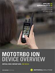 MOTOTRBO Ion Device Overview
