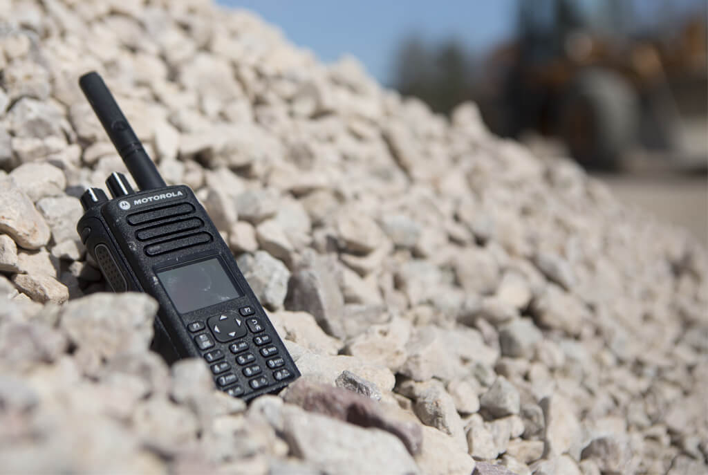 Two way radio rentals for construction sites